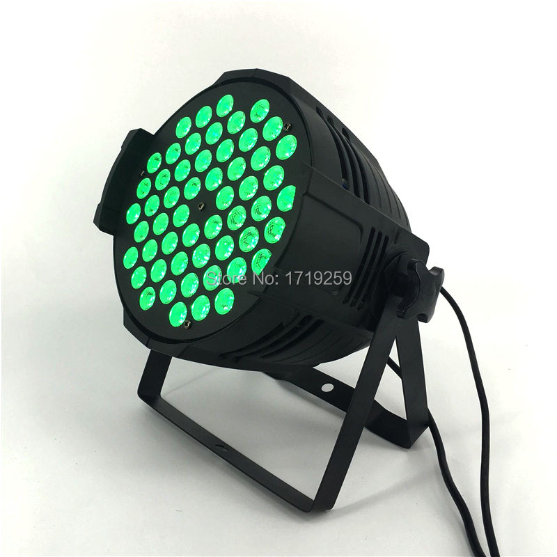 54x9W RGB LED Par Light DMX Stage Lights Par Can for Party KTV Disco DJ Aluminum alloy,and LED Par Windmill Lighting 9w 24 pattern led par rgb laser projector dmx rotating professional controller stage light dj disco ktv party sound auto mode