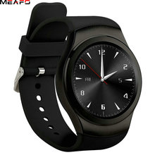Hot sale Bluetooth Smart Watch G3 Phone Full Round Circle Wrist Smartwatch MTK2502 APK for Apple