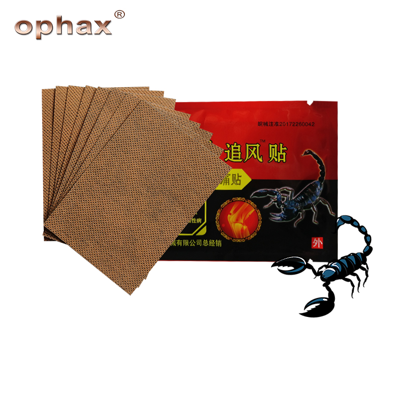 OPHAX 48pcs/6bags Medical Orthopedic Plasters Scorpion Venom Extract Pain Patch Relief For Joint Muscular Neck Back Arthritis