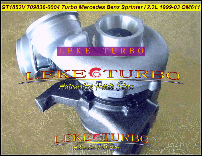 GT1852V 726698-0001 778794-0001 709836-5004S 709836 778794 726698 A6110960899 turbo turbine For Mercede PKW Sprinter OM611 2.2L