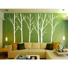 Birch Forest Tree Room Wall Stickers Decal Vinyl Decor