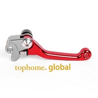 New Motorcycle Top Quality CNC Aluminum Pivot Dirt Bike Clutch Levers Red Colour For Honda CRF450X