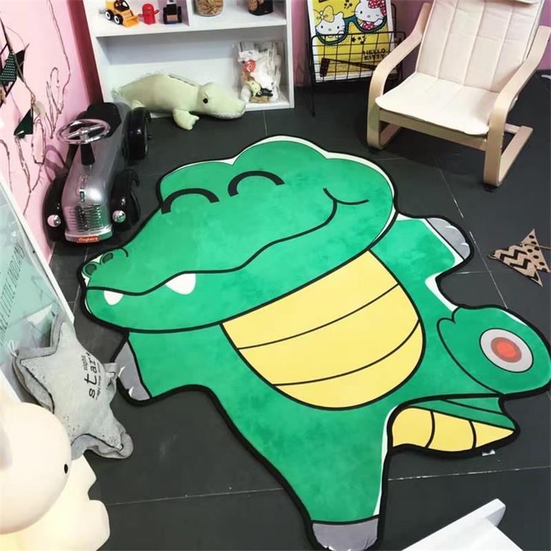 100X150CM Animal Shape Carpet Kids Room Children Play Game Floor Mat Home  Entrance/Hallway Doormat