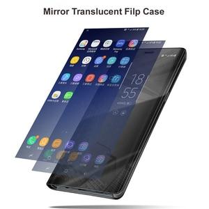 Роскошное умное зеркало, откидной Чехол для Huawei P30 Pro P20 Lite Nova 2i 3 3i 4, чехол для Huawei P Smart Plus Y6 Y7, 2019