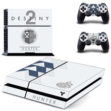 Game Destiny 2 PS4 Skin Sticker Decal Vinyl for Sony Playstation 4 Console and 2 Controllers PS4 Skin Sticker metro exodus ps4 skin sticker decal vinyl for sony playstation 4 console and 2 controllers ps4 skin sticker