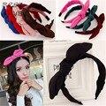 Волосы ювелирные для женщин лента уха кролика Hairbands руководитель группы заколки Hairwear аксессуары для волос лето новый стиль 2015