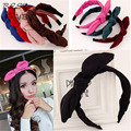 Jóias cabelo bonito para as mulheres fita Hairbands orelha de coelho cabeça banda Barrettes Hairwear acessórios de cabelo estilo verão novo 2015