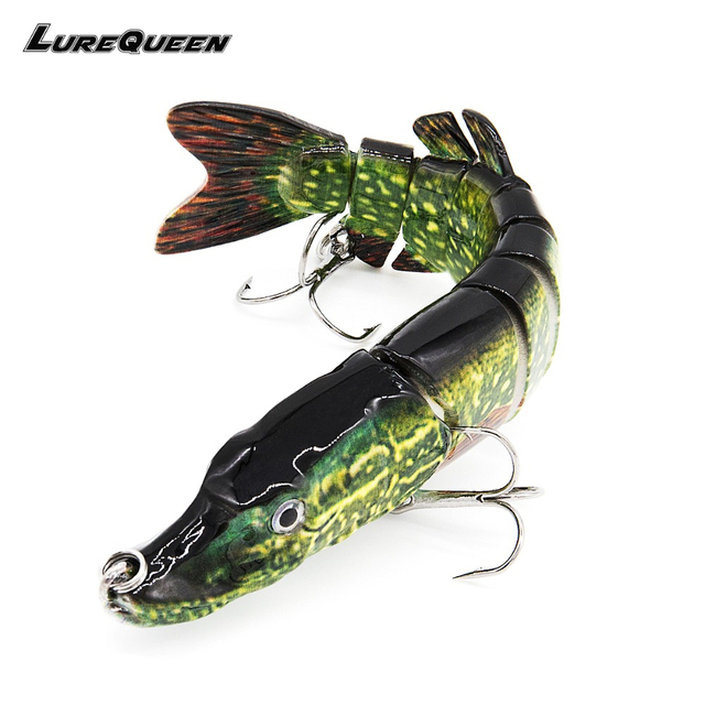 Artificial Pike bait Multi Jointed Fishing Lures