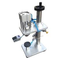Área de trabalho Pneumático Capper Perfume Máquina Tampando  Máquina De Friso Frasco De Perfume