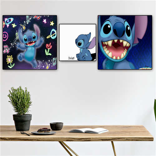 Custom Stitch  (1) Poster Printing Posters Cloth Fabric Wall Art For Living Room Decor#19-01-15-127