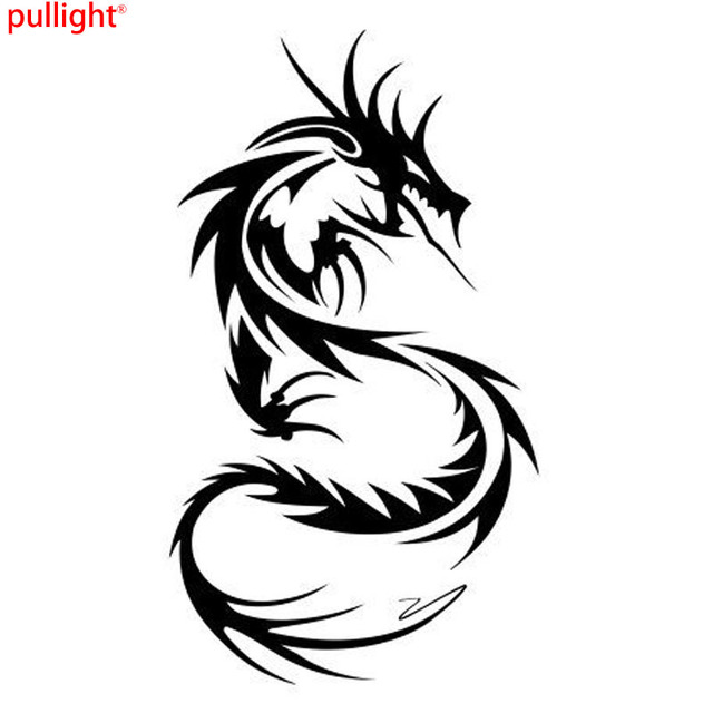 Car styling chinese dragon classic motorcycle vinyl car body stickers custom car styling decals
