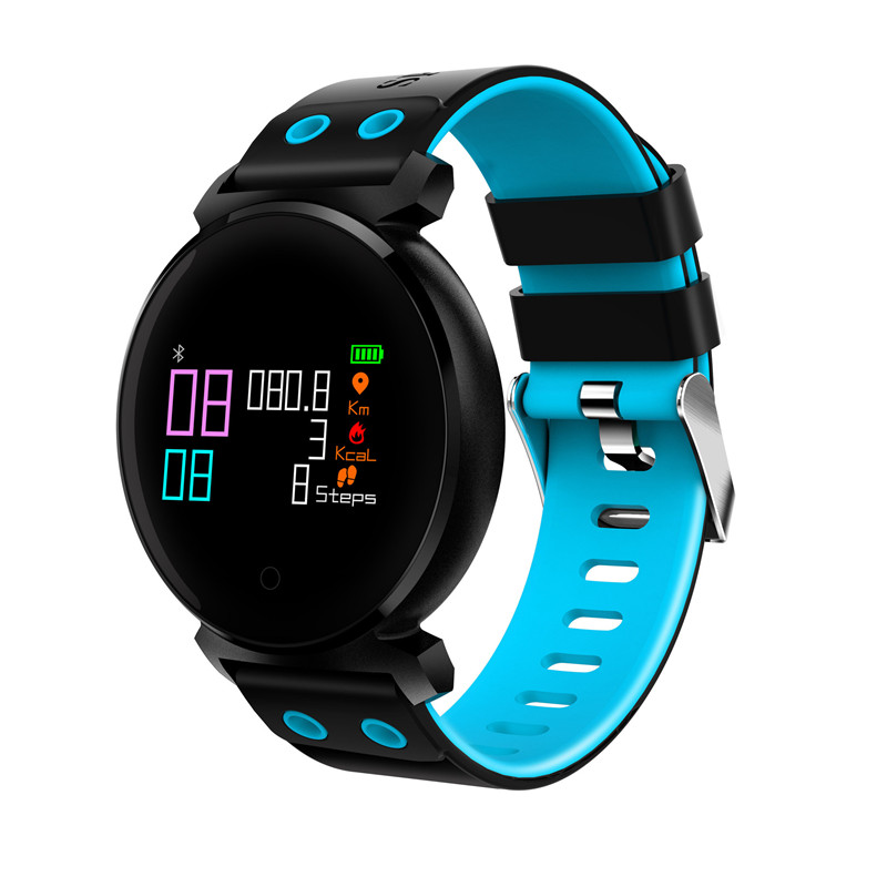 K2 Bluetooth Smart Watch IP68 Waterproof Colorful OLED Smartwatch Blood Pressure Heart Rate Monitor For iphone for Xiaomi 9.27 new update original xiaomi bluetooth ihealth smart blood pressure dock monitor system for xiaomi series electronic gadgets
