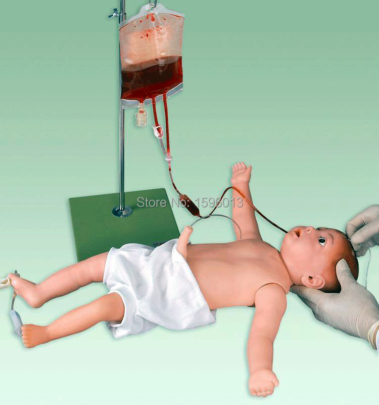 Infant Full Body Venipuncture Model,Advanced Infant Access Simulator, Infant Venipuncture Simulator iso advanced infant arterial puncture arm model arterial puncture training simulator