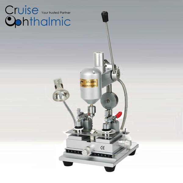 New Multifunction Optometry Drilling Machine Optical Lens Driller LY-17