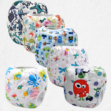 2016 New Swim Diaper Leakproof Reusable Adjustable For Baby Infant Boy Girl Toddler 0 3 Years Swim Nappies(10pcs)