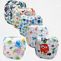 2017 New Swim Diaper Leakproof Reusable Adjustable For Baby Infant Boy Girl Toddler 0 3 Years Swim Nappies(10pcs)
