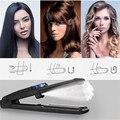 Профессиональный паровой выпрямитель для волос керамический паровой выпрямитель для волос плоский железный шов для выпрямления волос Утю...