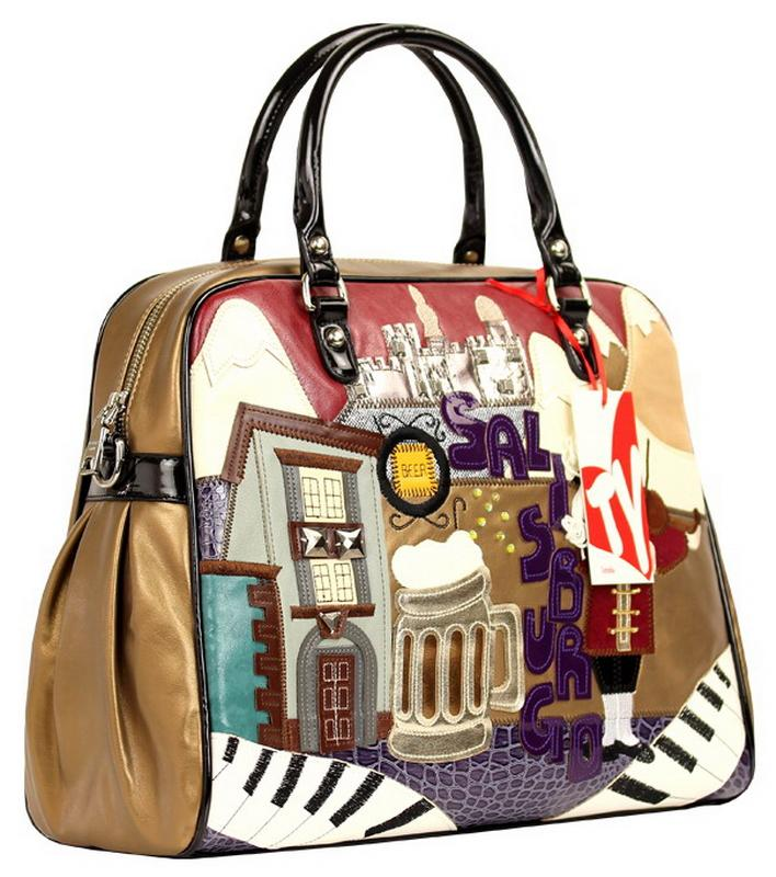 small À Sj Emballages Violoniste De Artisanat Braccialini Main Size Sac Femme Art Dessinée Bande Style Sacs Messenger Marque Musicien Large Size Épaule Bar Femmes H86r8ABY