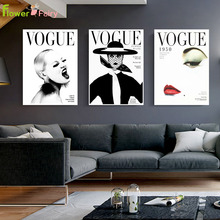 Fashion Affiche Vogue Nordic Poster Magazine Wall Art Canvas Painting Prints Pictures For Living Room Modern Decor Unframed