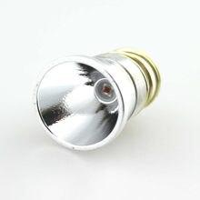 XP-E2 CREE de 26,5mm, luz ámbar de 2,8 nm, 400lm, 4,6 V-V, 1 modo, OP P60, LED, lámpara colgante de, para linterna 501B/502B