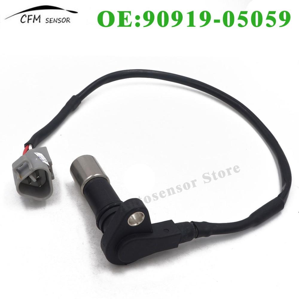 90919 05059 New Crankshaft Crank Position Sensor Fit