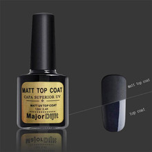 12ml Matt Nail Polish MAJOR DIJIT Matt Top Coat Uv Diamond Nail Gel Polish Primer Nail Art  Top Coat