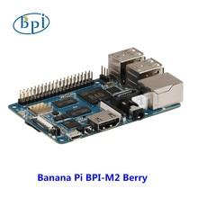 Новые продукты! 4 ядра cortex A7 Процессор 1 Гб DDR Banana pi BPI-M2 Berry один и тот же размер, как и raspberry pi 3