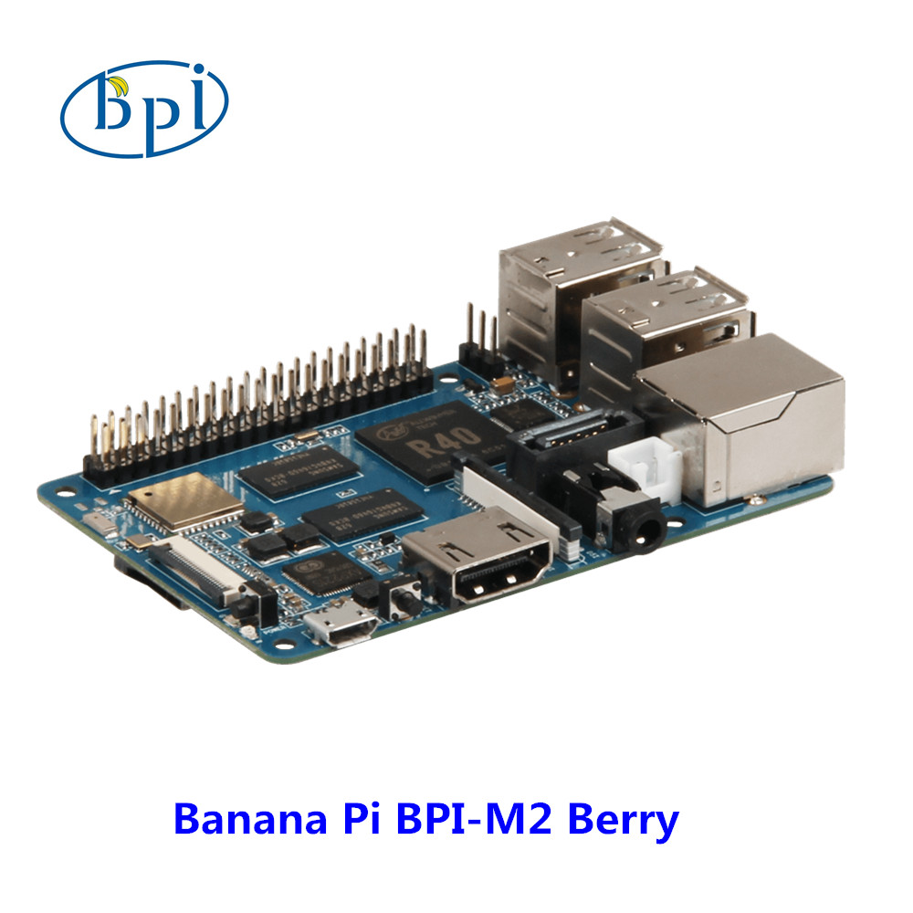 Nouveaux produits! Quad Core cortex A7 CPU 1G DDR Banane pi BPI-M2 Berry, même taille que framboise pi 3