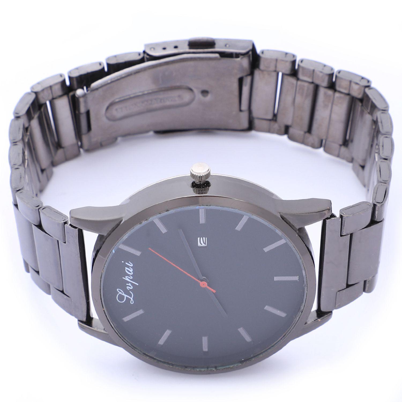 Lvpai Fashion Casual Man Mens Watches Top Brand Luxury Leather Business Quartz Watch Men Wristwatch, P350