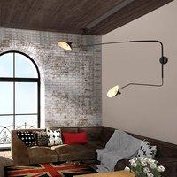 NEW Nordic Rotary Long Pole Wall Lamp Loft Wall Light Night Lamp Home Living Room Decoration Indoor Lighting Bar Restaurant