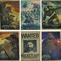Ninja Turtles 2 Movie Poster Living Room Decorative Paintings Children Retro Poste /Kraft Poster/Wall sticker