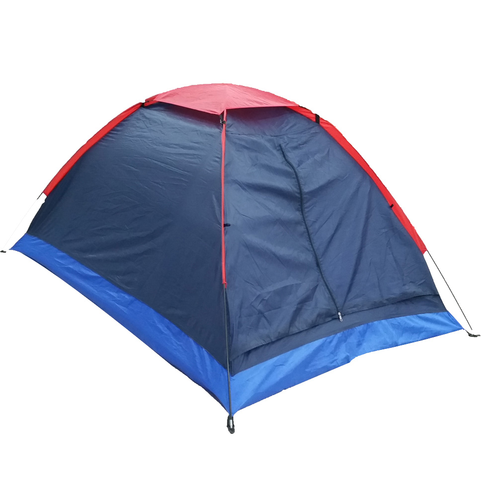 Image 2 - 2 People Outdoor Travel Camping Tent with Bag Camping Tent travel Camping Tents Outdoor Camping Beach Tents-in Tents from Sports & Entertainment