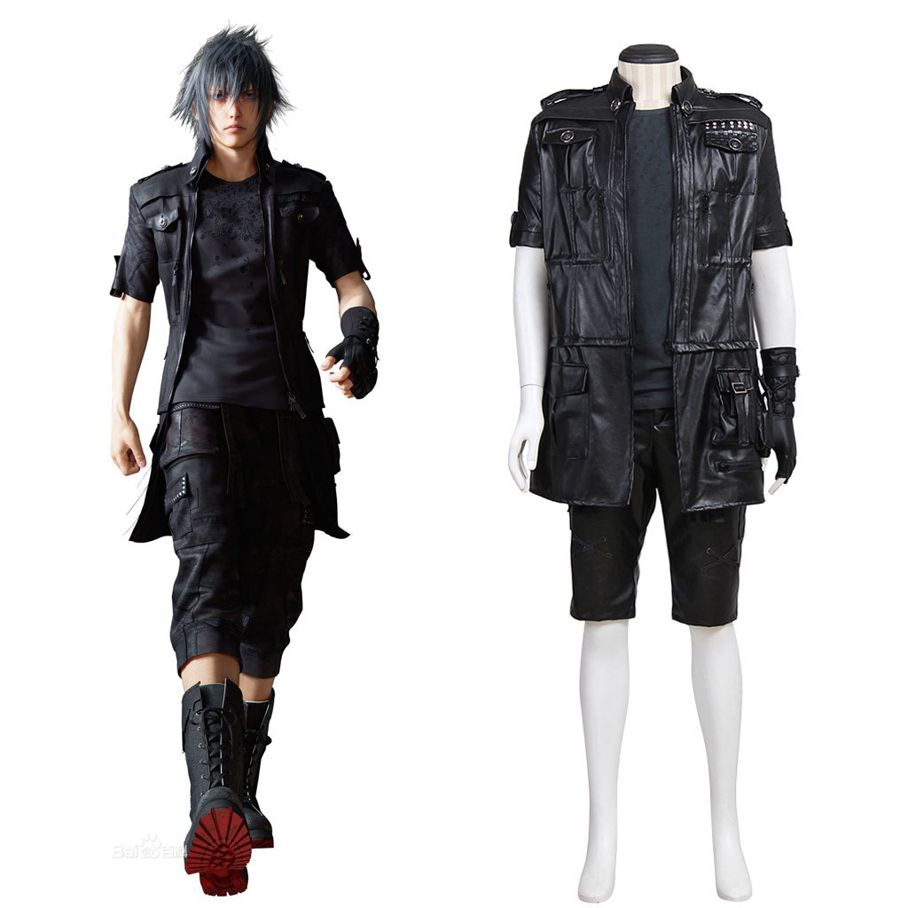Final Fantasy XV 15 Noctis Lucis Caelum Noct Cosplay Outfit Men Women Halloween Costumes Custom Made Any Size