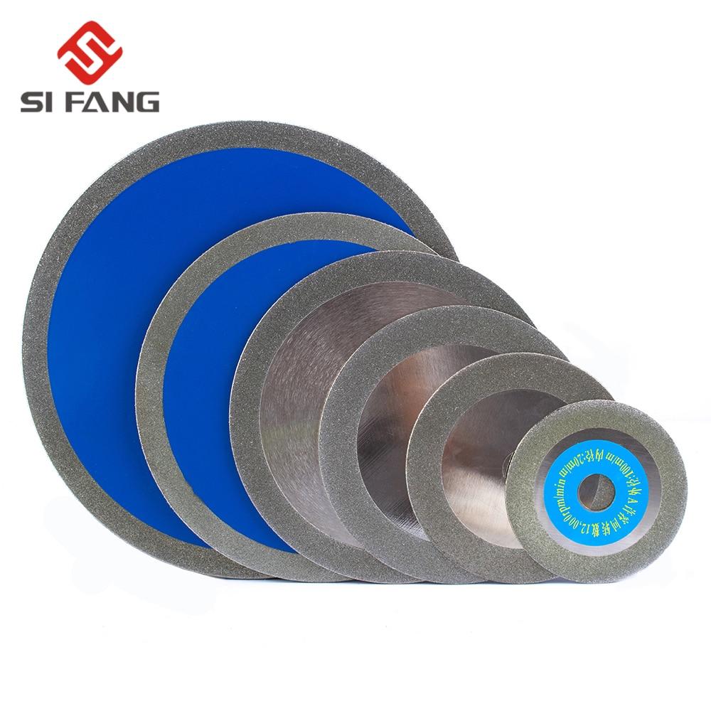 "2pcs 4/"" Diamond Alloy Grinding Slice Cutting Wheel Saw Blade for Glass Ceramic"