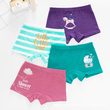 Fashion Baby Girl Underwear Cotton Striped Panties Kids Cute Princess Shorts for Teenage 2t 3t 6 8 10 12 Year Cartoon Underpants
