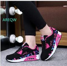 New 2017 Fashion Comfortable Flats Women Trainers Woman Shoes Casual Outdoor Walking Shoes Women Flats Zapatillas Mujer