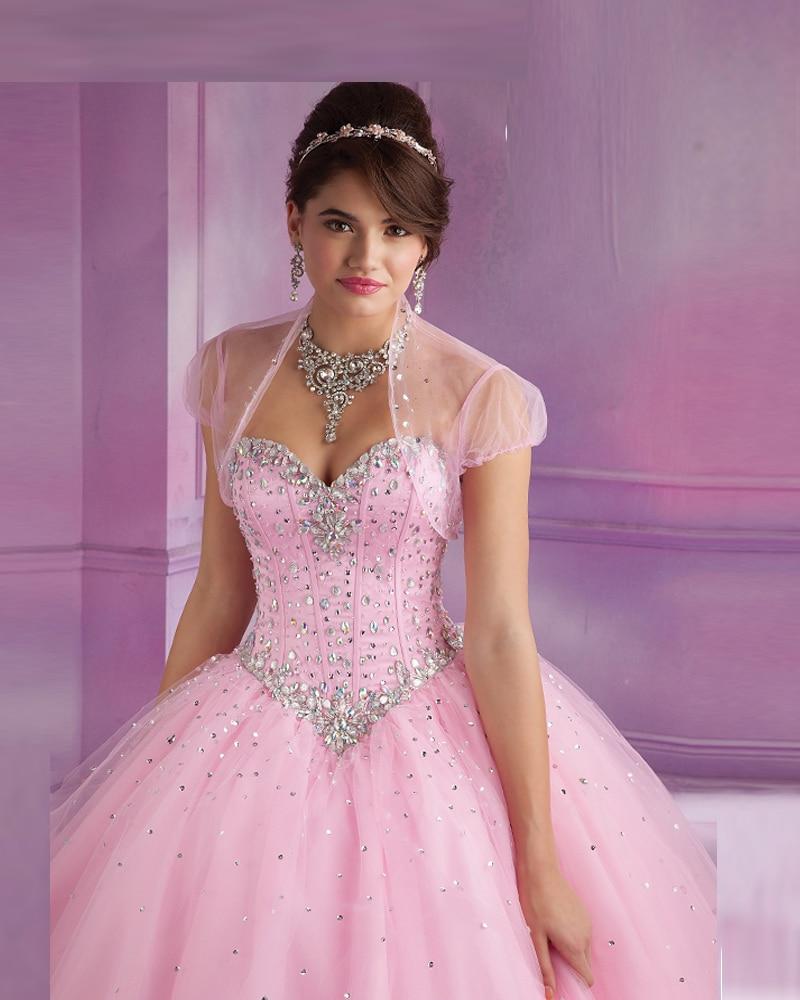 Vestido debutante menta verde/color de rosa caliente vestidos de ...