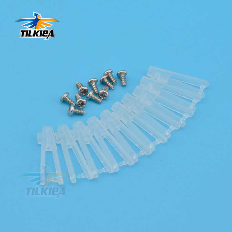 10pcs 1mm Plastic Clevis Chuck  RC Control Horn clevis Chuck For RC Place Air Plane
