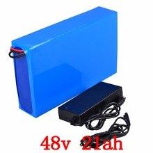 48 в 2000 Вт Батарея 48 В 20AH eectric велосипед батарея 48 В 21AH литиевая батарея 48 В литиевая батарея с 50A BMS + 54,6 в 2A зарядное устройство