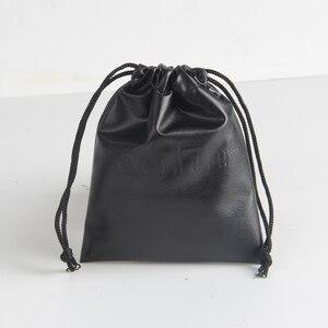 Image 5 - На заказ/оптовая печать логотипа маленький PU луч Карманный мешок ювелирных изделий