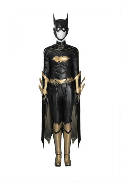 Batman: Arkham Knight Batgirl Cosplay Costume Outfit Whole Set