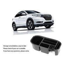 Car Storage Armrest Box fit for Honda HR V Vezel Center Console Glove Organizer Tray Retrofit Classify Sort Out Box