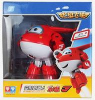 Superwings 1pcs/set 12cm ABS Plane Toys Super Wings Airplane Robots Jett Dizzy Donnie Jerome Action Figures Kids Gifts Toys 1270