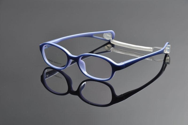 DeDing Kids Brillengestelle mit Kunststoff-Federschnur, Brillen Kids, - Bekleidungszubehör - Foto 4