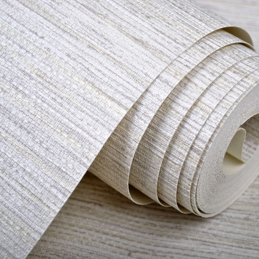 comprar llana moderna rstica textura horizontal faux grasscloth wallpaper pared del rollo de papel de vinilo lavable gris beige crema