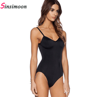 2016 New Arrival One Piece Swimsuit Women Vintage Bathing Suits Plus Size Swimwear Beach Padded Solid