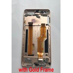 Image 2 - 100% מקורי עבודה זכוכית LCD תצוגת מסך מגע Digitizer הרכבה חיישן עם מסגרת עבור ZTE נוביה z17mini S NX589J NX589H