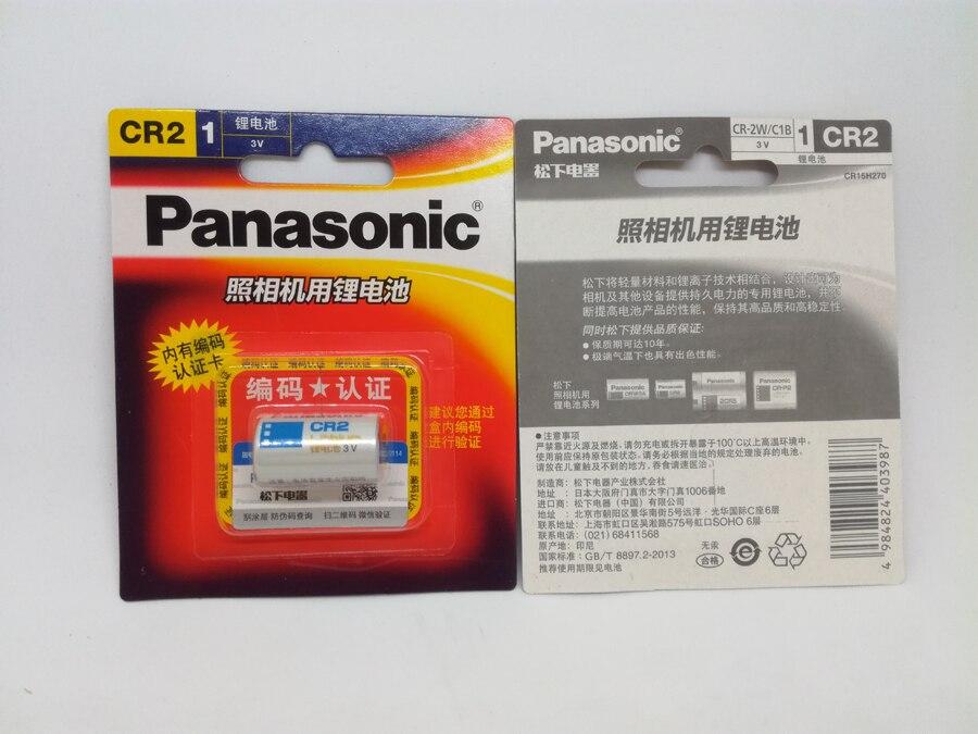 2pack/lot New Original Panasonic CR2 3V CR15H270 850mah CR 2 Lithium Battery Camera Batteries