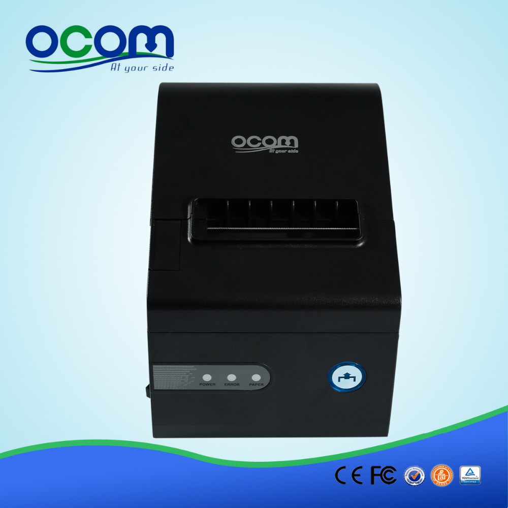 (RS232 Port) New 80MM MiNi Thermal Ticket Printer Pos Terminal Printer With Automatic Cutter(OCPP-804)