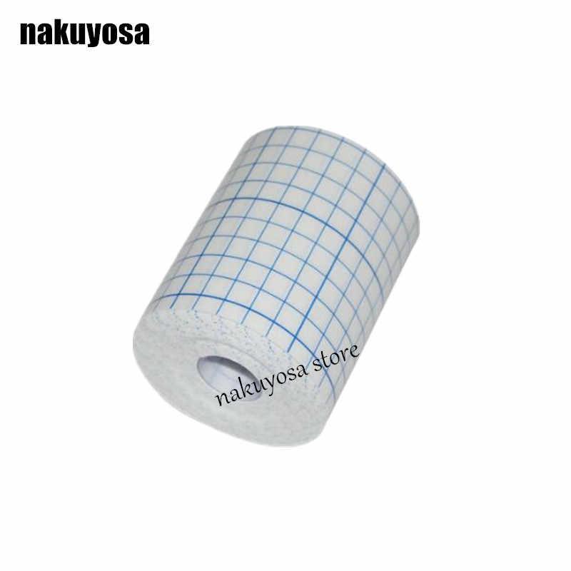3 adet 5 cm x 10 m Streç Yapıştırıcı Bandaj Gazlı Bez Fixomull Bant Hipoalerjenik Nonwoven yapışkan yara pansuman malzemesi Kapağı Rulo streç